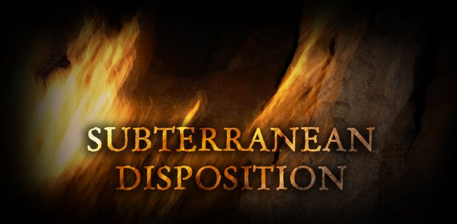 Subterranean Disposition - Logo