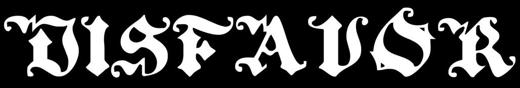 Disfavor - Logo
