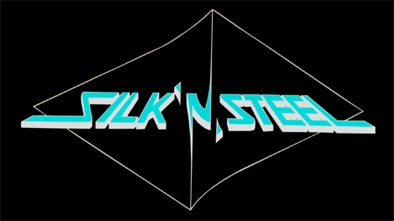 Silk 'n' Steel - Logo
