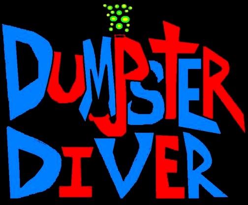 Dumpster Diver - Logo