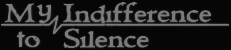 My Indifference to Silence - Logo