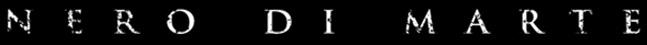 Nero di Marte - Logo