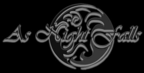 As Night Falls - Logo