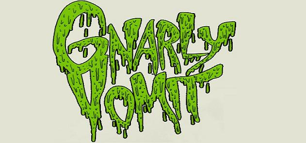 Gnarly Vomit - Logo