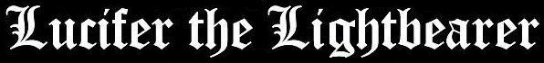 Lucifer the Lightbearer - Logo