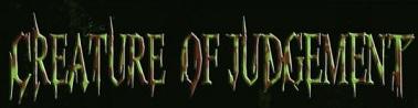 Creature of Judgement - Logo