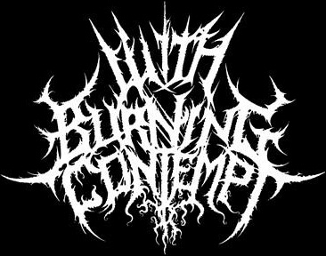With Burning Contempt - Logo