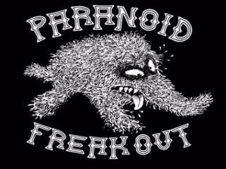Paranoid Freak Out - Logo