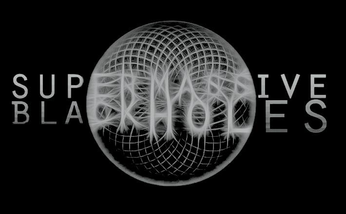 Super Massive Black Holes - Logo