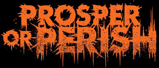 Prosper or Perish - Logo