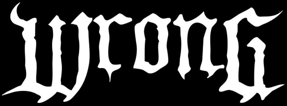 Wrong - Logo
