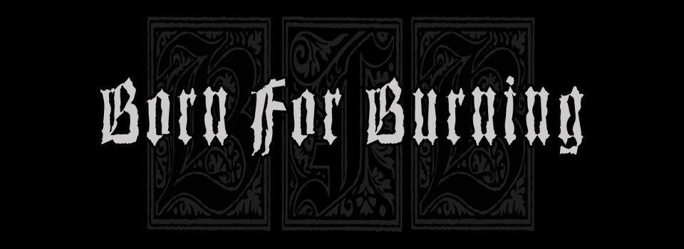 Born for Burning - Logo