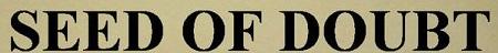 Seed of Doubt - Logo
