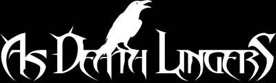 As Death Lingers - Logo