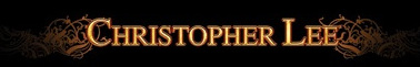 Christopher Lee - Logo