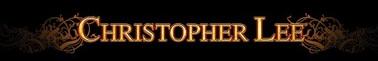 Christopher Lee - Logo