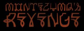 Montezuma's Revenge - Logo