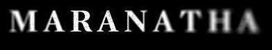 Maranatha - Logo