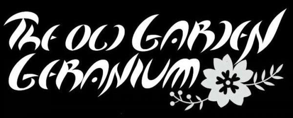 The Old Garden Geranium - Logo