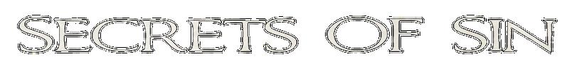 Secrets of Sin - Logo
