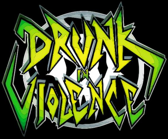 Drunk in Violence - Logo