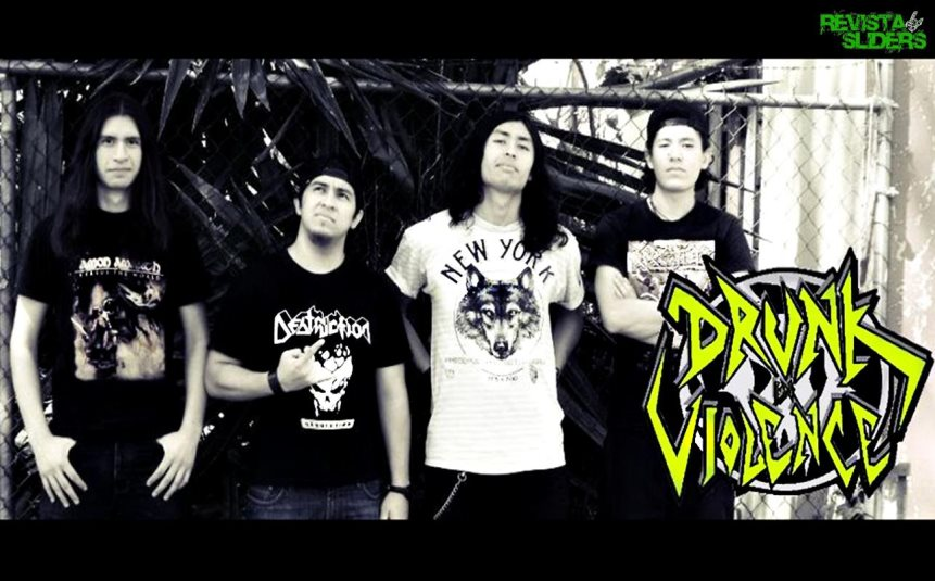 Drunk in Violence - Photo
