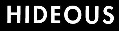 Hideous - Logo