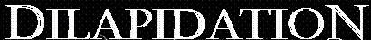 Dilapidation - Logo