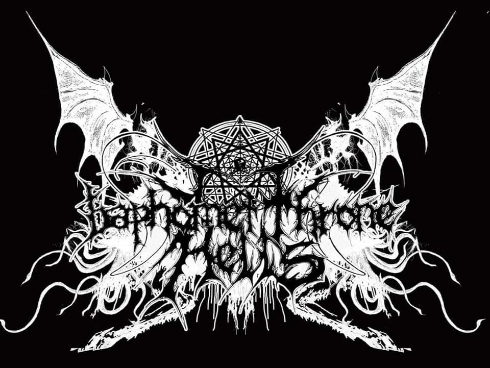 Baphomet Throne Hell's - Logo