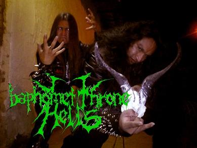 Baphomet Throne Hell's - Photo