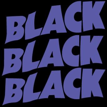 Black Black Black - Logo