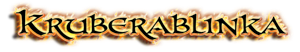 Kruberablinka - Logo
