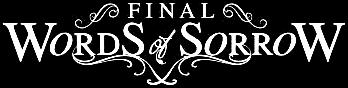 Final Words of Sorrow - Logo