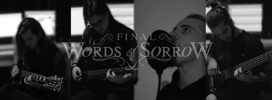 Final Words of Sorrow - Photo