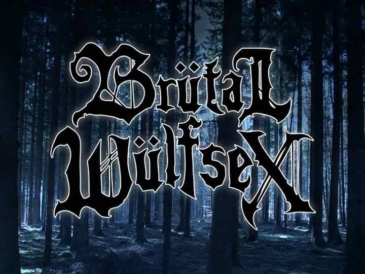 Brütal Wülfsex - Logo