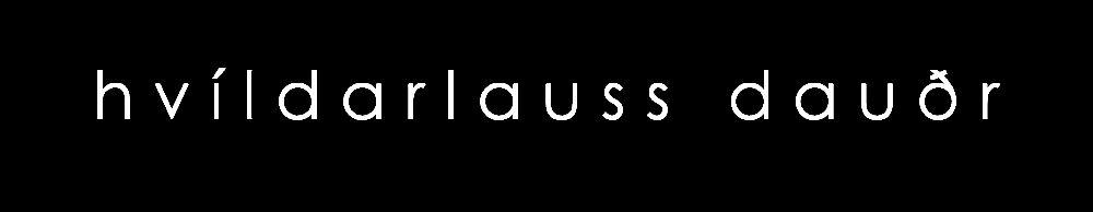 Hvíldarlauss Dauðr - Logo