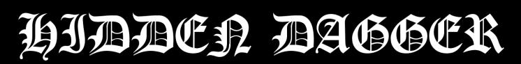 Hidden Dagger - Logo
