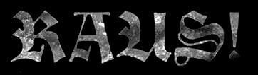 Raus! - Logo
