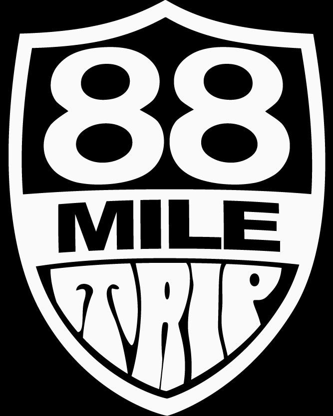 88 Mile Trip - Logo
