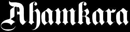 Ahamkara - Logo