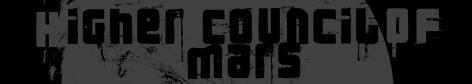 Higher Council of Mars - Logo