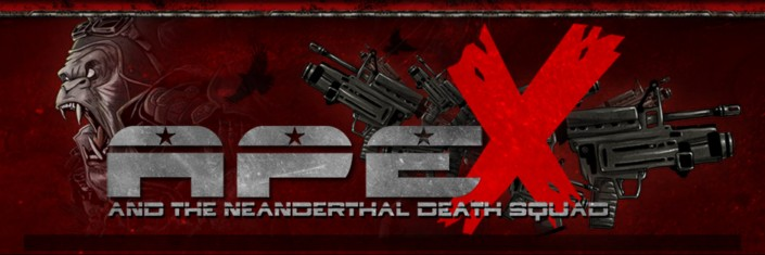 Ape X and the Neanderthal Death Squad - Logo
