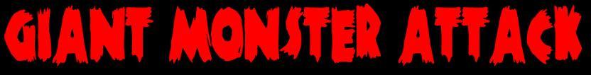 Giant Monster Attack - Logo
