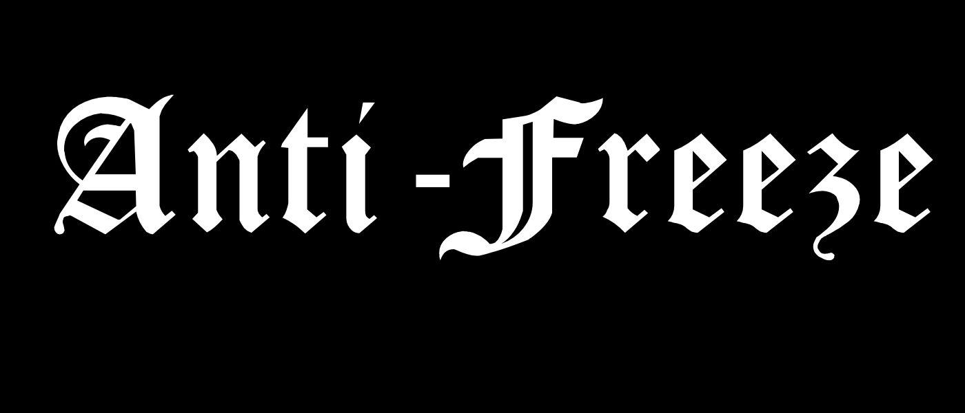 Anti-Freeze - Logo
