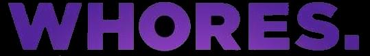 Whores. - Logo