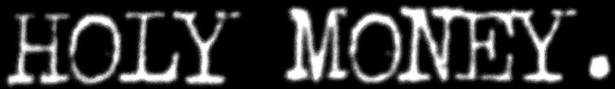 Holy Money - Logo