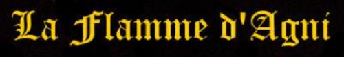 La Flamme d'Agni - Logo