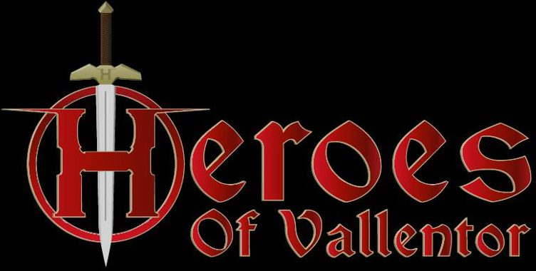 Heroes of Vallentor - Logo