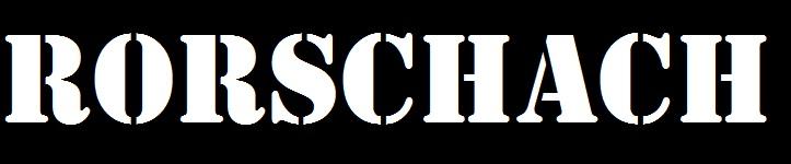 Rorschach - Logo