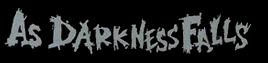 As Darkness Falls - Logo